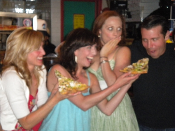 Photo Flash: Two Boots Celebrates PROMISES, PROMISES With A Slice Of Broadway