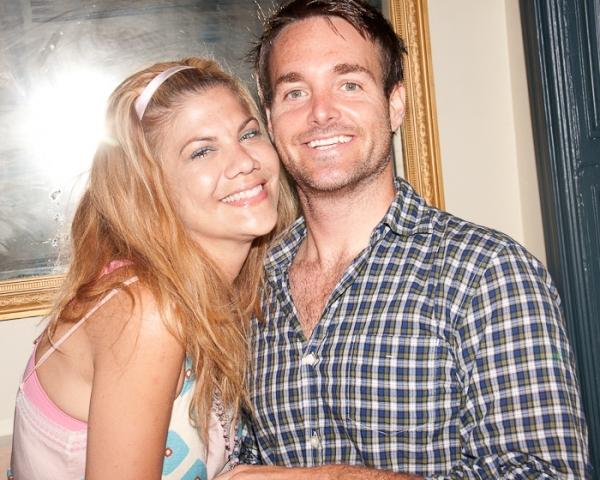 Kristen Johnston and Will Forte