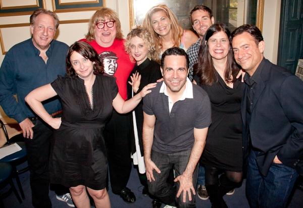 Alan Zweibel, Rachel Dratch, Bruce Vilanch, Carol Kane, Mario Cantone, Kristen Johnston, Will Forte, Dayle Reyfel and Eugene Pack