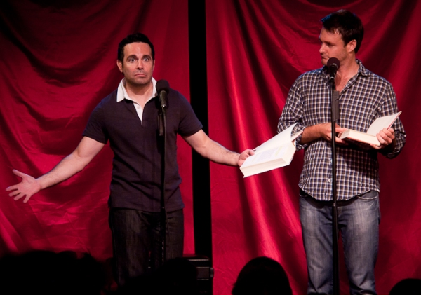 Mario Cantone and Will Forte