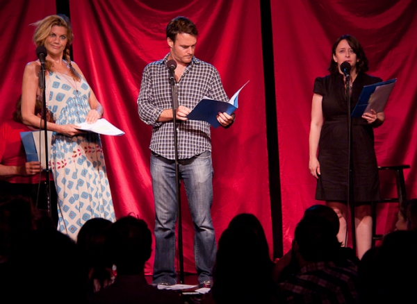 Kristen Johnston, Will Forte and Rachel Dratch