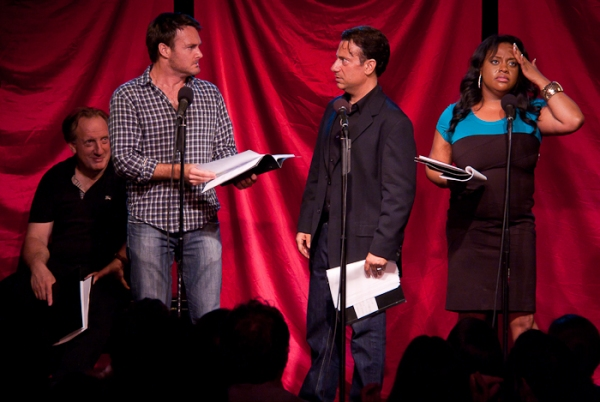 Alan Zweibel, Will Forte, Eugene Pack and Sherri Shepherd