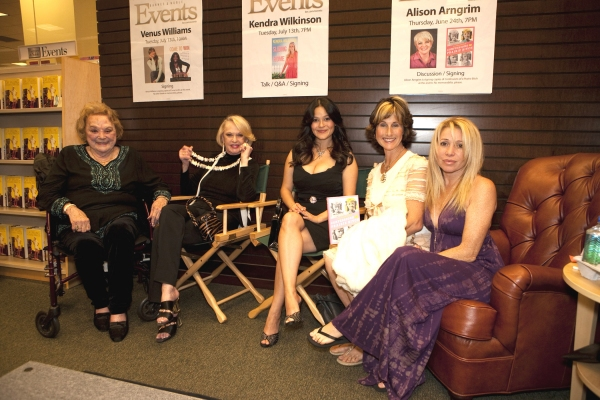 Rose Marie, Tippi Hedren, Romi Dames, Cathy Silvers and EG Daily at Alison Arngrim At Barnes And Noble