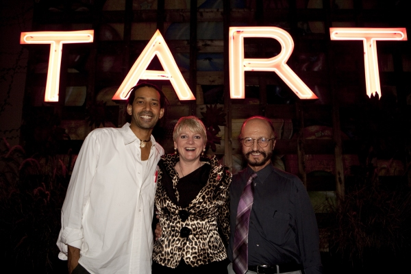 TART manager Terry Tolba with Bob Schoonover and Alison Arngrim