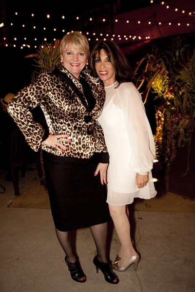 Alison Arngrim and Kate Linder