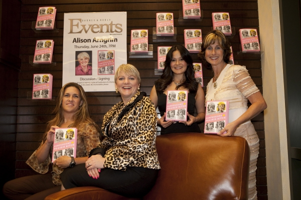 Rachel Greenbush, Alison Arngrim, Romi Dames and Cathy Silvers at Alison Arngrim At Barnes And Noble