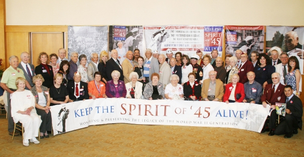 Loni Anderson, Margaret O'Brien and Kate Linder join the Veterans of the Class of 45