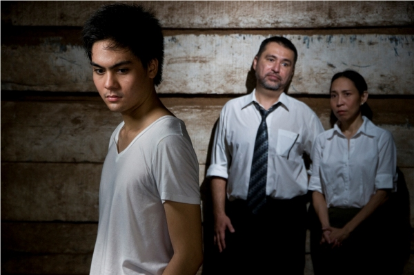 Marco Mañalac, Jaime del Mundo, Tami Monsod at Concepcion And Mañalac Alternate As Alan Strang In Repertory Philippines' EQUUS, 7/9-7/25