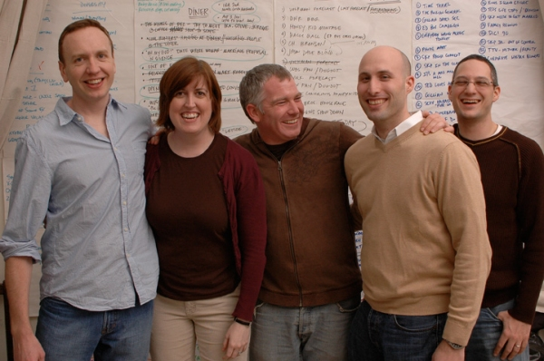 Sandy Marshall, Kate James, Adam Witt, Justin Kaufmann, Stephen Schmidt