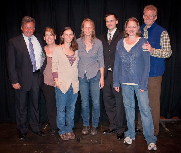 Photo Coverage: Helen Hunt Premieres in OUR TOWN