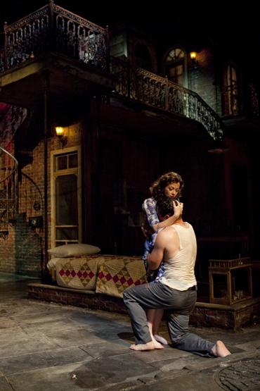 Stacia Rice (Stella Kowalski) and Ricardo Antonio Chavira