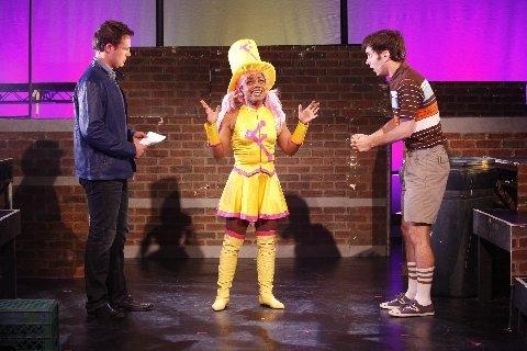 Kurt Robbins, Kenita Miller and Jacob Hoffman