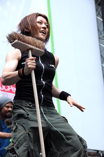 Yako Miyamoto (Stomp) Photo