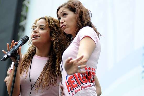 Alejandra Reyes & Bianca Marroquin (In The Heights)