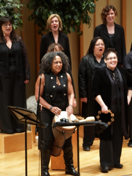 Photo Coverage: Vicki Randle Joins Vox Femina in Concert at Zipper Hall