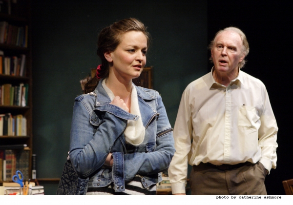 Tim Pigott-Smith and Laura Dos Santos