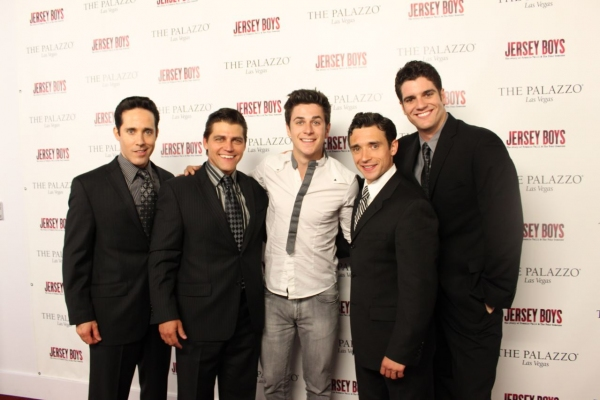 Photo Flash: David Henrie, Attends Phantom-The Las Vegas Spectacular & Jersey Boys