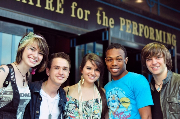 Siobhan Magnus, Aaron Kelly, Katie Stevens, Todrick Hall, and Tim Urban