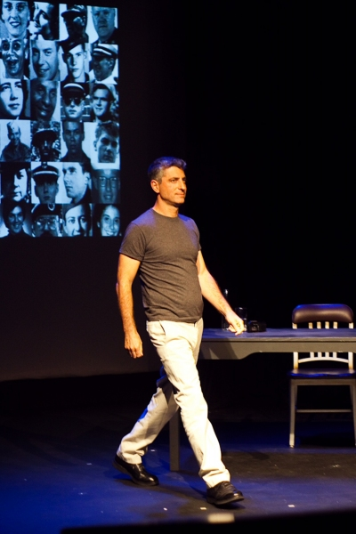 Marc Wolf at ANOTHER AMERICAN: ASKING AND TELLING at the DR2 Theatre