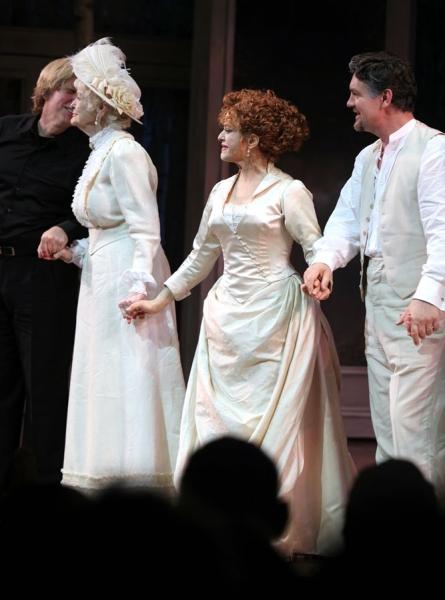 Elaine Stritch, Bernadette Peters and Alexander Hanson Photo