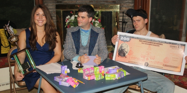 Brittany Robertson, Matthew Timmons & Mike Kessler