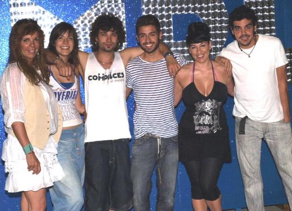 Belinda Washington, María Virumbrales, Marc Parejo, Borja Voces, Lorena Calero y Ángel Muñiz