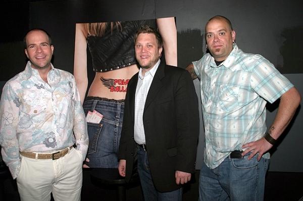 POWER BALLADZ Creators Peter Rothstein, Dan Nycklemoe and Mike Todaro