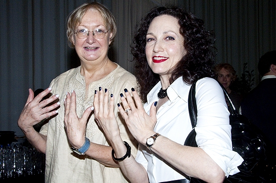 Photo Coverage: Neuwirth Launches 'Morticia's Nails' to Benefit The Actor's Fund