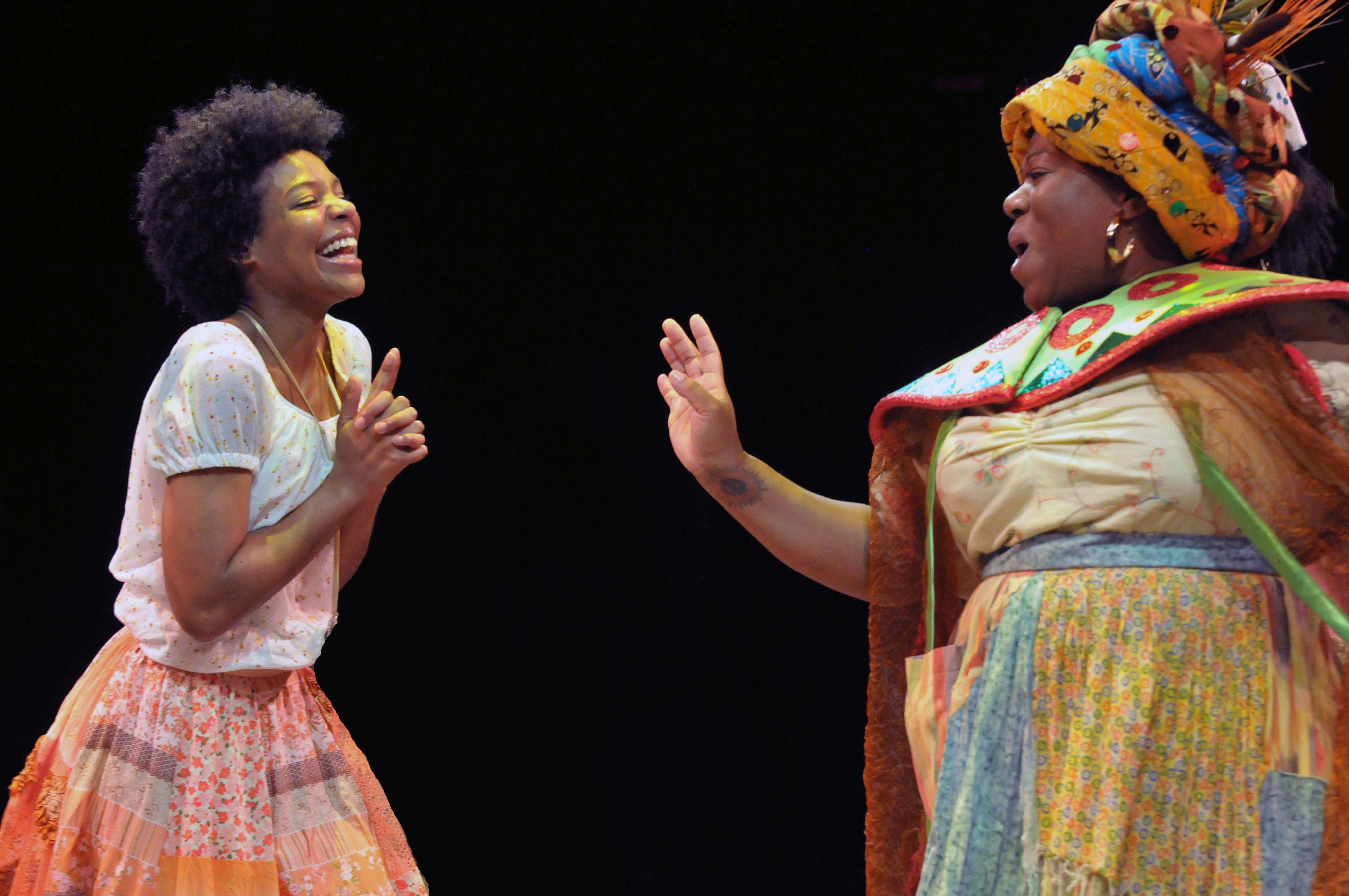 'Once On This Island' Is A Tuneful, Colorful And Moving Marriott Musical