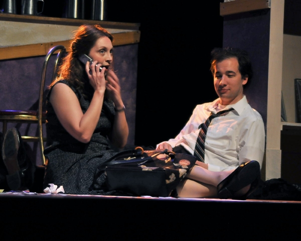Photo Flash: DEAD MAN'S CELL PHONE Plays the Wayside Theatre