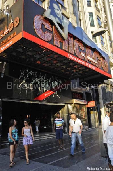 Photo Flash: Última función de Chicago en Madrid