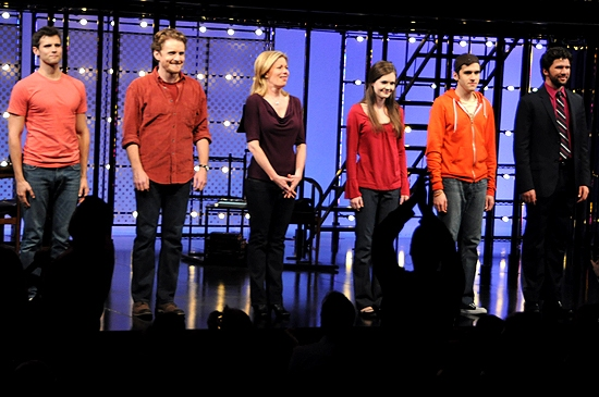 Photo Coverage: Mazzie & Danieley Join NEXT TO NORMAL