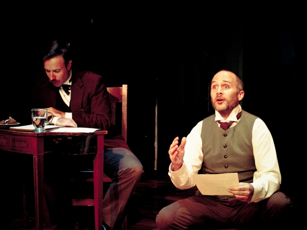 Demian Krentz and Joe Anderson (R) as Adam and Chauncy Binjimmons