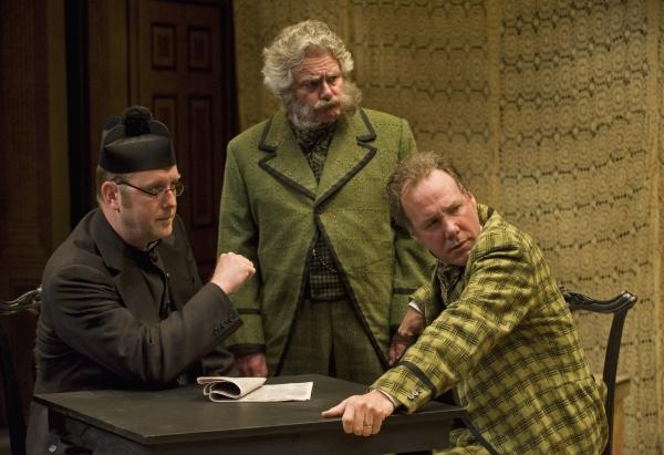 Thom Marriott, Guy Bannerman, and Patrick McManus in John Bull's Other Island