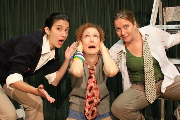 Rachael Hip-Flores, Suzanne Hayes and Sheila Joon