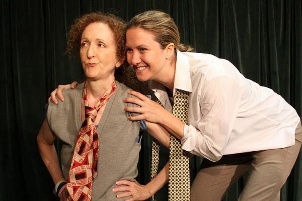 Suzanne Hayes and Sheila Joon