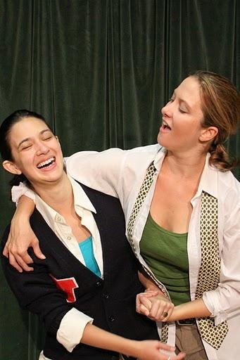 Rachael Hip-Flores and Sheila Joon