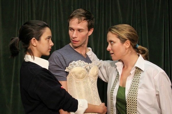 Rachael Hip-Flores, Hunter Gilmore, and Sheila Joon Photo