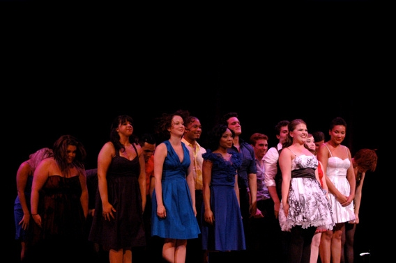 Jessica Wagner and The cast of Broadway's Rising Stars