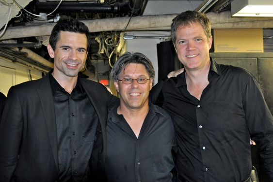 John Fischer (Musical Director), Larry Gross and Steve Doyle  at Town Hall Presents 2010 'Broadway's Rising Stars' Concert