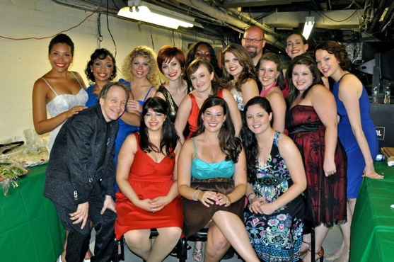 The Ladies of the cast-Emmy Raver-Lampman, Jennie Harney, Danielle Columbo, Carolyn Amaradio, Emily Iaquinta, Ellisha Marie Thomas, Laura Darrell, Erin Gorey, Jessica Wagner, PJ Verica, Jennie McGuiness, Meredith Lustig, and Brooke Schlosser
