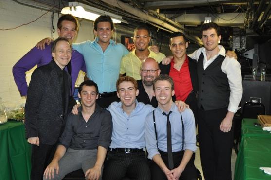 The Men of tonight's show-Jeff Raab, Matt Steele, Brad Giovanine, Jacob Smith, Stephe Photo