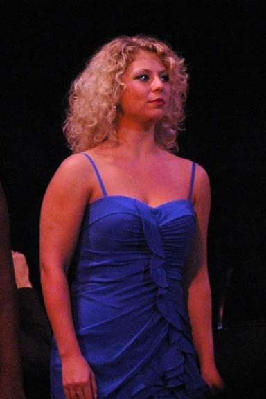 Carolyn Amaradio at Town Hall Presents 2010 'Broadway's Rising Stars' Concert