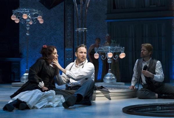 J. Smith-Cameron, Sean Mahon and Tim Hopper at La Jolla Playhouse Presents A MIDSUMMER NIGHT'S DREAM