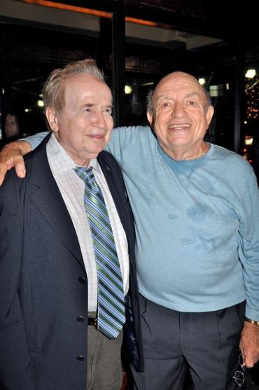 Joe Franklin and Lou Cutell