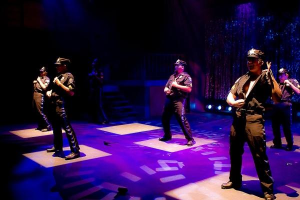 Bryan Dobson, Michael Isaac, Jason Kennedy; back row, from left: Guinn Powell, Stephe Photo