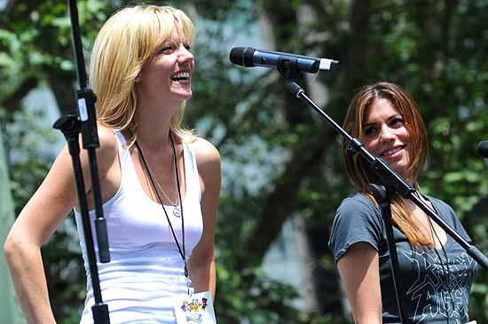 Jennifer Foote & Angel Reed (Rock Of Ages)
