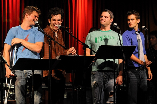 Andrew Durand, Adam Chanler-Berat,  Cole Burden & Kevin Greene