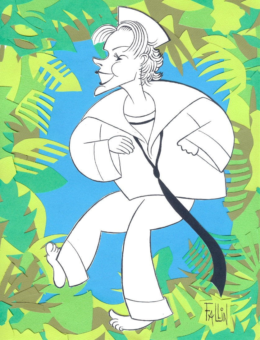 Ken Fallin Illustrates: Kelli O'Hara in SOUTH PACIFIC