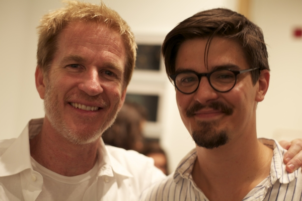 Matthew Modine and Daniel Grossman